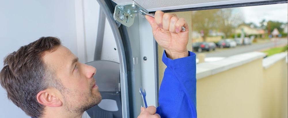 Garage Door Repairs preformed by a professional garage door repairman